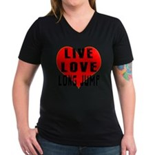 Live Love Long Jump De Shirt
