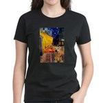 Cafe - Airedale (S) Women's Dark T-Shirt