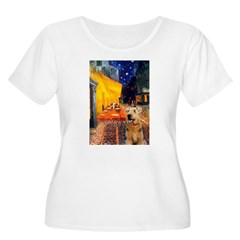 Cafe - Airedale (S) T-Shirt