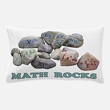 Math Rocks Pillow Case
