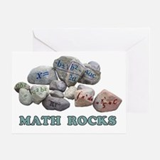 Math Rocks Greeting Card