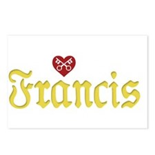 Pope Francis Postcards (Package of 8)