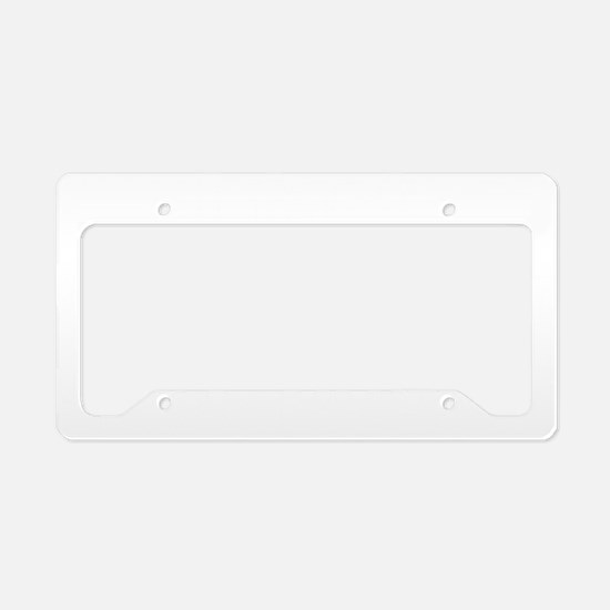 fartPowers1B License Plate Holder