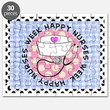 happy nurses week card blue Puzzle