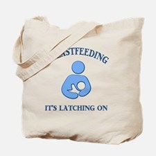 Latching on Tote Bag