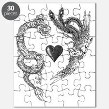 longfeng heart Puzzle