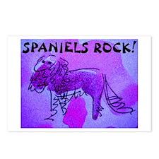 Spaniels Rock Postcards (Package of 8)