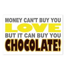 Buy Love Chocolate Postcards (Package of 8)