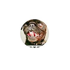 Hamilton Pug - SMILE Mini Button