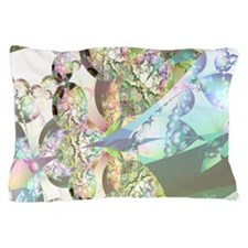 Wings of Angels Amethyst Crystals Pillow Case