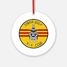 Tonkin Gulf F-4 Club Round Ornament