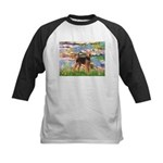 Lilies#2 - Airedale #6 Kids Baseball Jersey