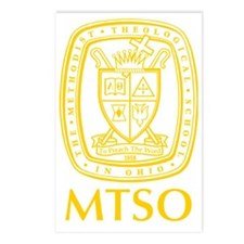 MTSO gold crest Postcards (Package of 8)