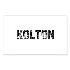 Kolton Rectangle Decal