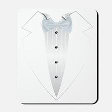 Tuxedo (white) Mousepad