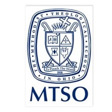 MTSO navy crest Postcards (Package of 8)