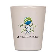 2013 NCSW Theme Logo Shot Glass