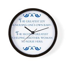 2-joy Wall Clock