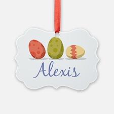 Easter Egg Alexis Ornament