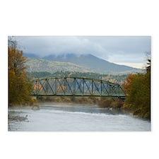 Tolt Bridge, Carnation, W Postcards (Package of 8)