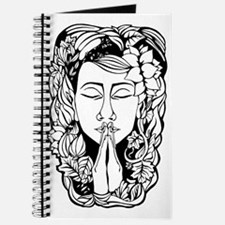 Mother Earth in Namaste Position Original  Journal