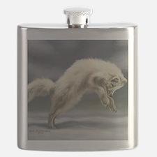 Arctic Fox Flask
