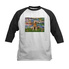 Lilies#2 & Airedale (S) Tee