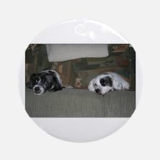 Bookends Ornament (Round)