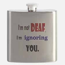 Im not deaf Flask