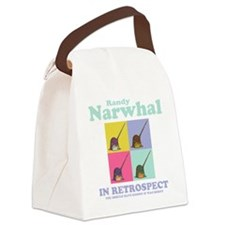 narwhal-randy-DKT Canvas Lunch Bag
