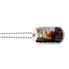 page turner Dog Tags