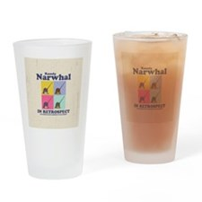 narwhal-randy-BUT Drinking Glass