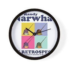 narwhal-randy-LTT Wall Clock