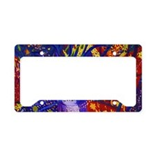Arriving - The Power of Love License Plate Holder
