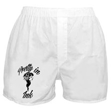 Pretty In Ink Boxer Shorts