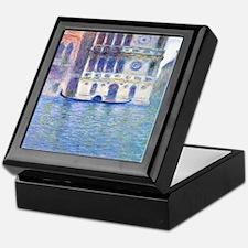 Monet Palazzo-Dario Painting Shower C Keepsake Box