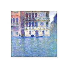 "Monet Palazzo-Dario Paintin Square Sticker 3"" x 3"""