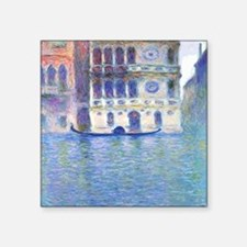 "Monet Palazzo-Dario Paintin Square Sticker 3"" x 3"""