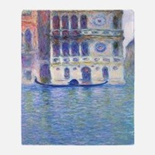 Monet Palazzo-Dario Painting Shower  Throw Blanket