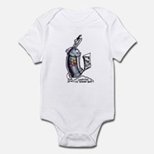 Black Book Spray Can Infant Bodysuit