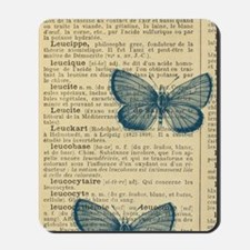 Butterfly Vintage Mousepad