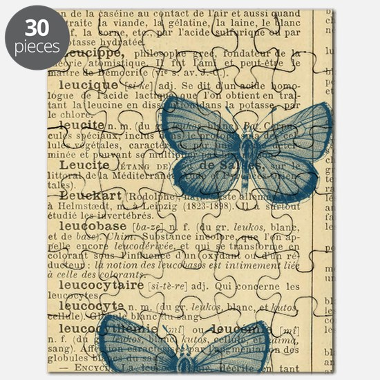 Butterfly Vintage Puzzle
