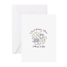 Wine a Bit Greeting Cards (Pk of 10)