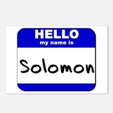 hello my name is solomon  Postcards (Package of 8)