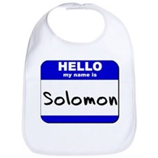 hello my name is solomon  Bib