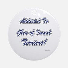 Imaal Addicted Ornament (Round)