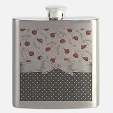Ladybug Dreams Flask
