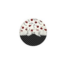 Ladybug Dreams Mini Button