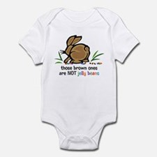 Brown Jelly Beans Infant Bodysuit