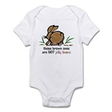 Brown Jelly Beans Onesie